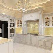 Những mẫu nội thất phòng bếp tân cổ điển đẹp