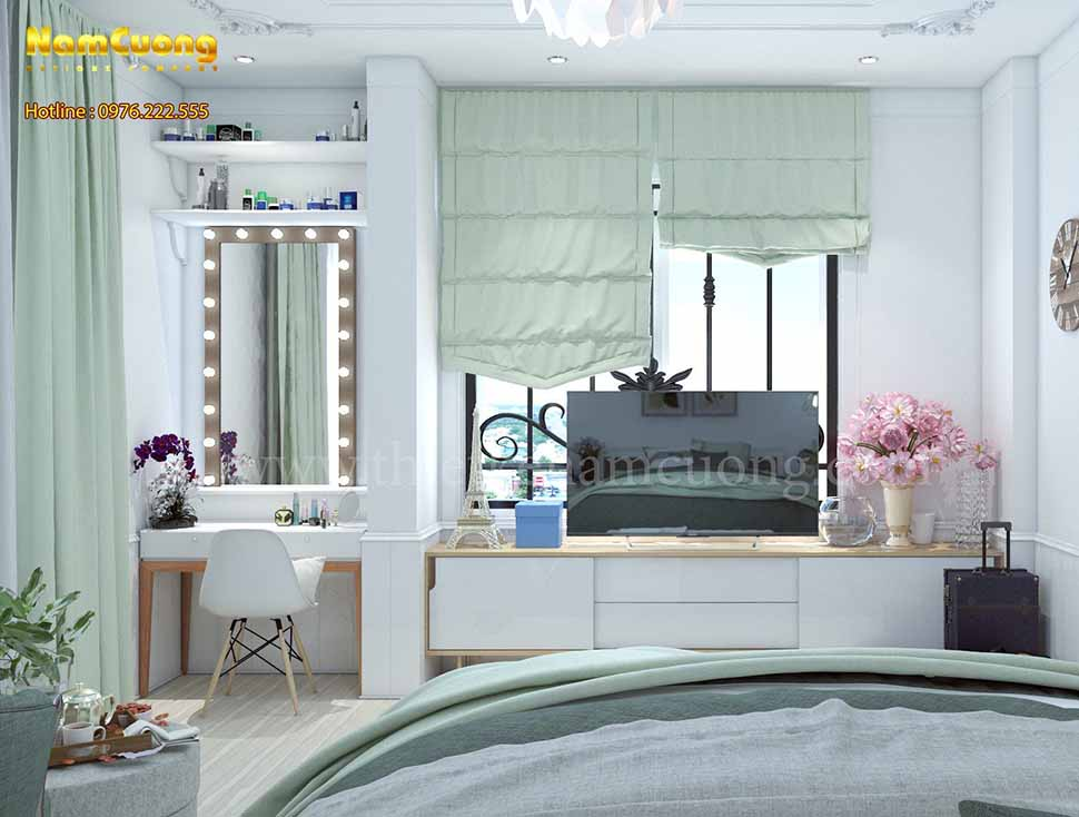 phòng ngủ hiện đại cho trẻ