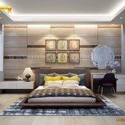 Thiết kế nội thất phòng ngủ hiện đại sang trọng