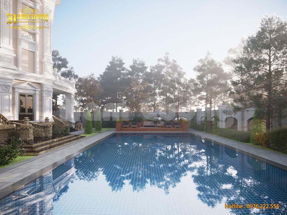 biệt thự có bể bơi