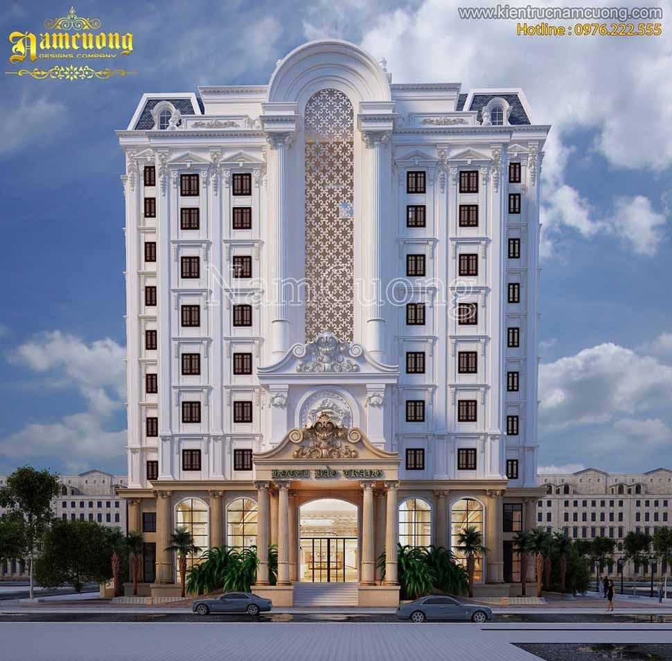 Thiết kế khách sạn độc đáo tại Sài Gòn