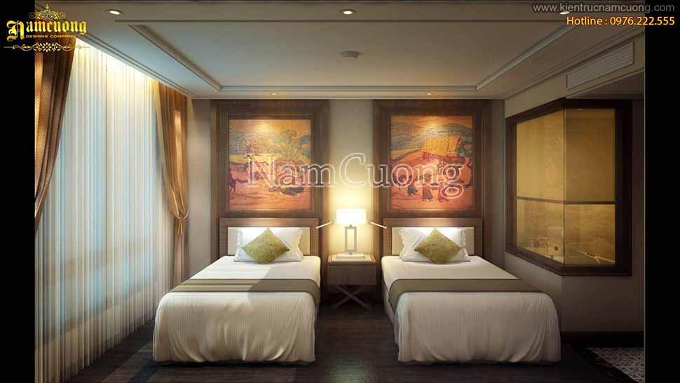 Thiết kế khách sạn nhỏ tại Hải Phòng