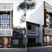 Thiết kế nhà ở kết hợp kinh doanh 4 tầng tại Hải Phòng