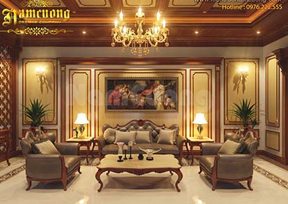 Thiết kế nội thất biệt thự nghỉ dưỡng tại Sài Gòn