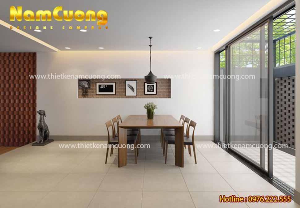 nội thất phòng bếp nhà hiện đại