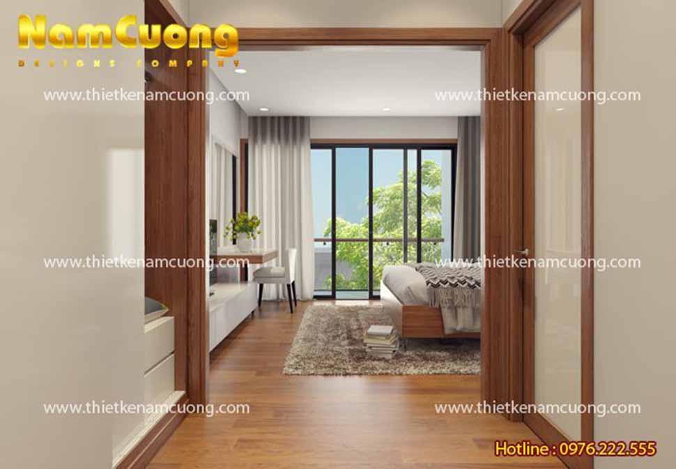 thiết kế phòng ngủ nội thất nhà hiện đại