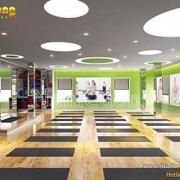 Thiết kế nội thất phòng tập Yoga