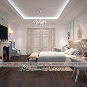 Thiết kế phòng ngủ 2 vợ chồng sang trọng