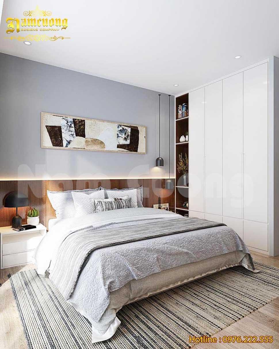 Thiết kế phòng ngủ hiện đại ấn tượng