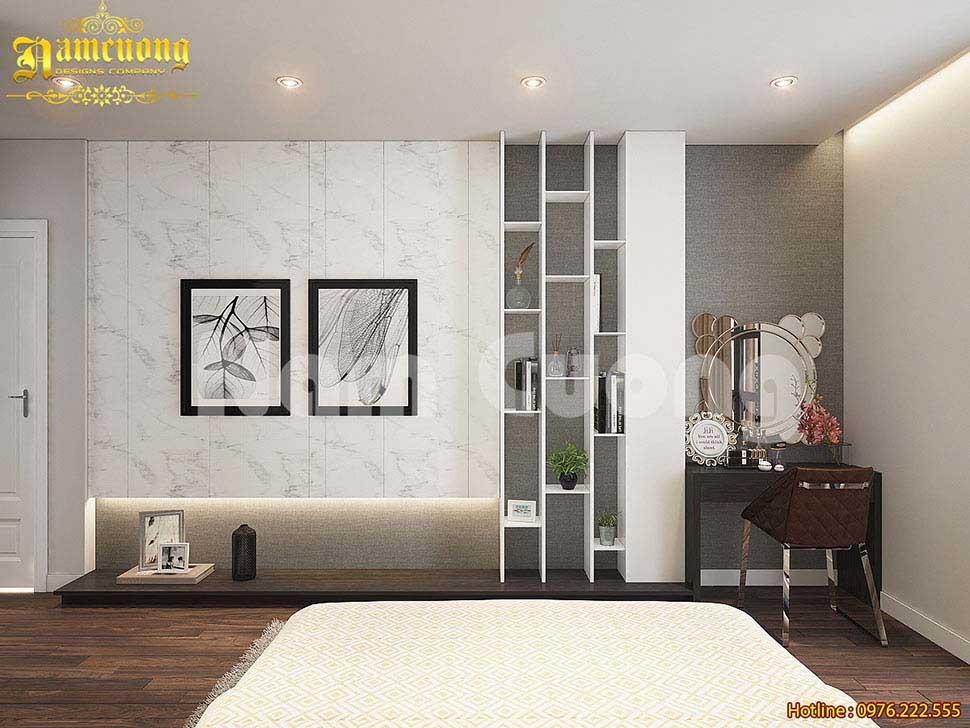 Nội thất phòng ngủ tích hợp nhiều chức năng
