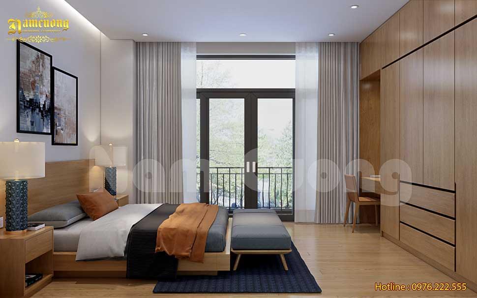 Mẫu phòng ngủ đơn giản hiện đại đẹp