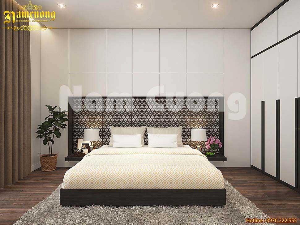 Mẫu thiết kế phòng ngủ hiện đại đơn giản