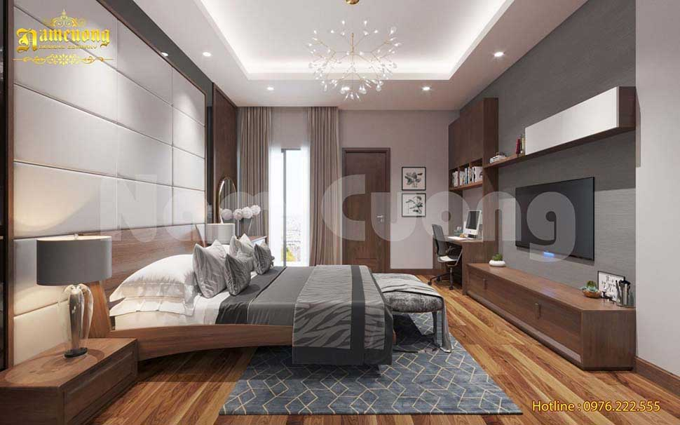 Không gian phòng ngủ đẳng cấp và tinh tế
