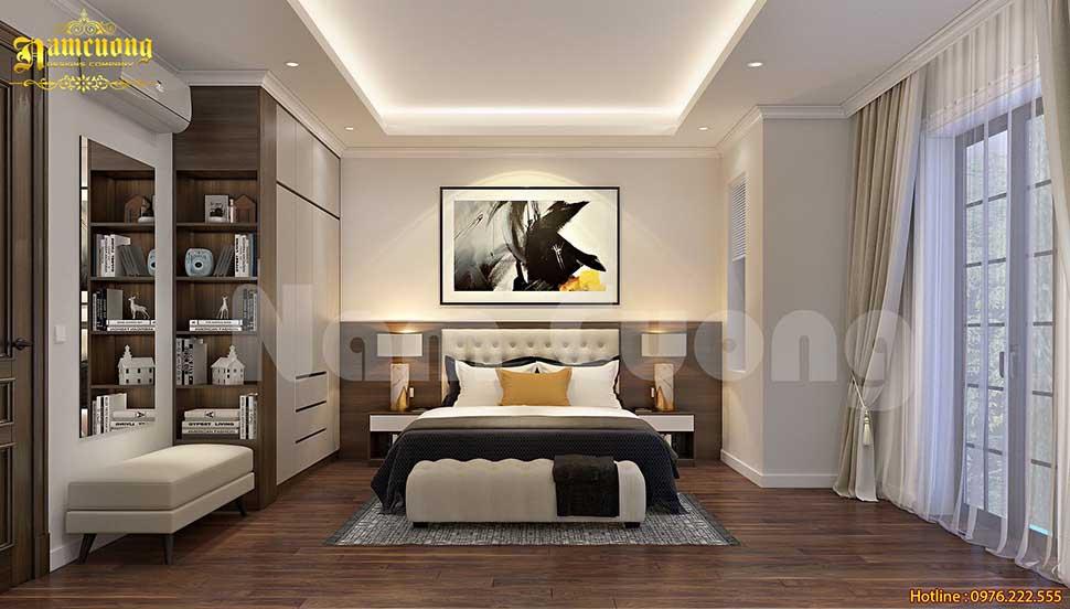Hình ảnh mẫu thiết kế phòng ngủ 20m2