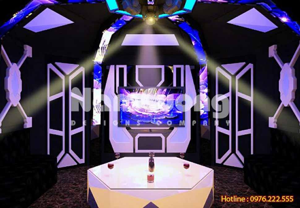 Thiết kế quán karaoke đẹp ở Quảng Ninh
