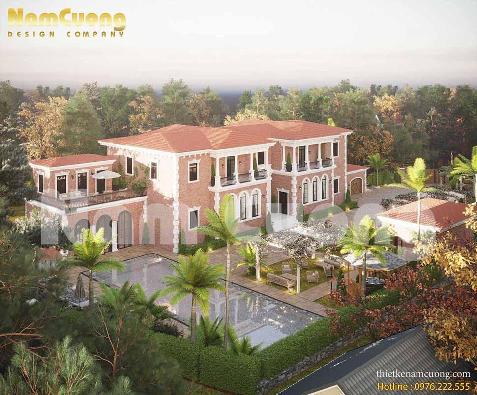 Thiết kế resort nghỉ dưỡng tuyệt đẹp