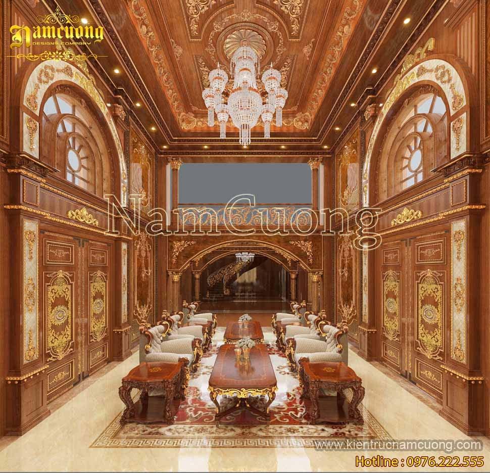 nội thất lâu đài đẹp