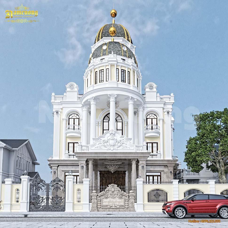 thiết kế lâu đài pháp