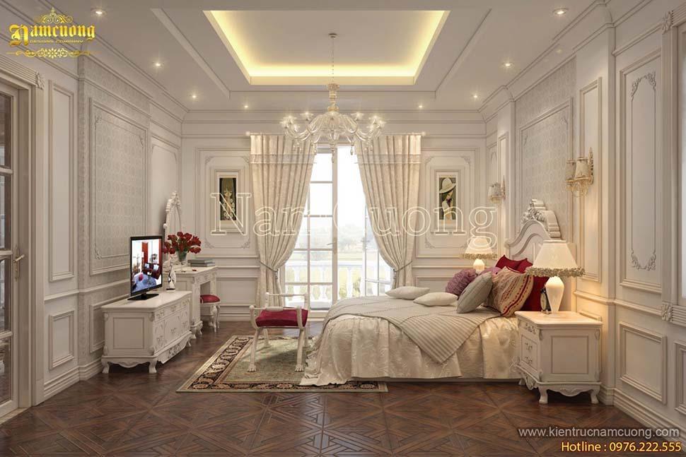 phòng ngủ biệt thự đẹp
