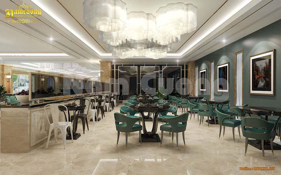 phòng ăn khách sạn 3 sao