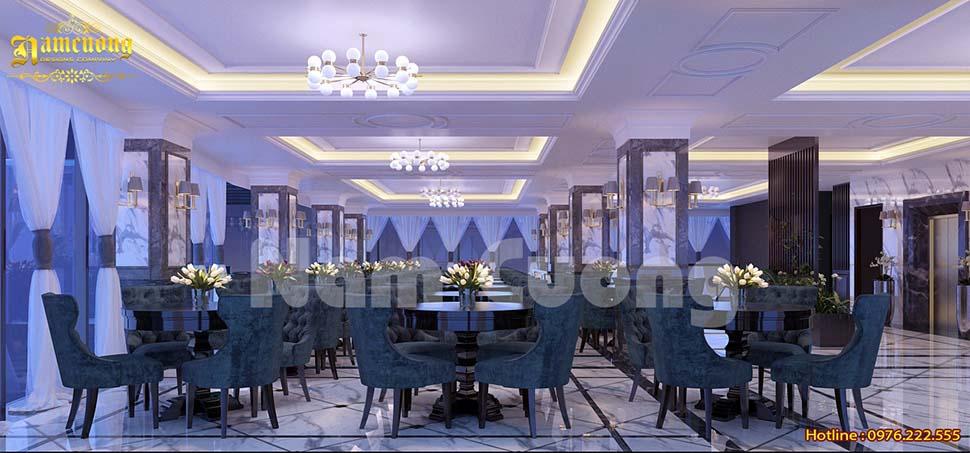 phòng ăn trên cao