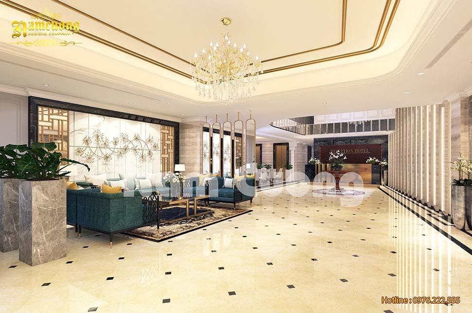 sảnh khách sạn tại đà lạt