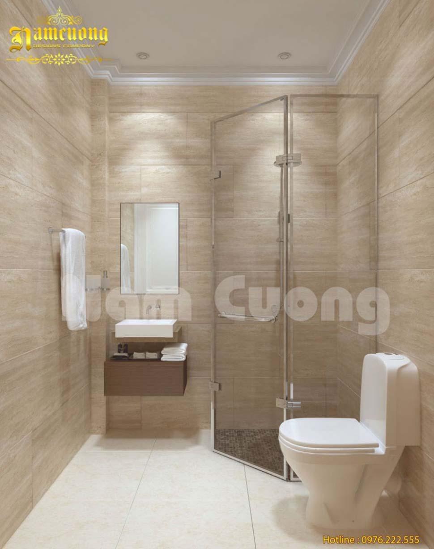 nội thất WC khách sạn đẹp