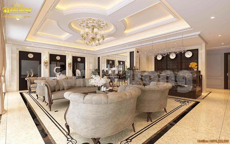 sảnh khách sạn đẹp