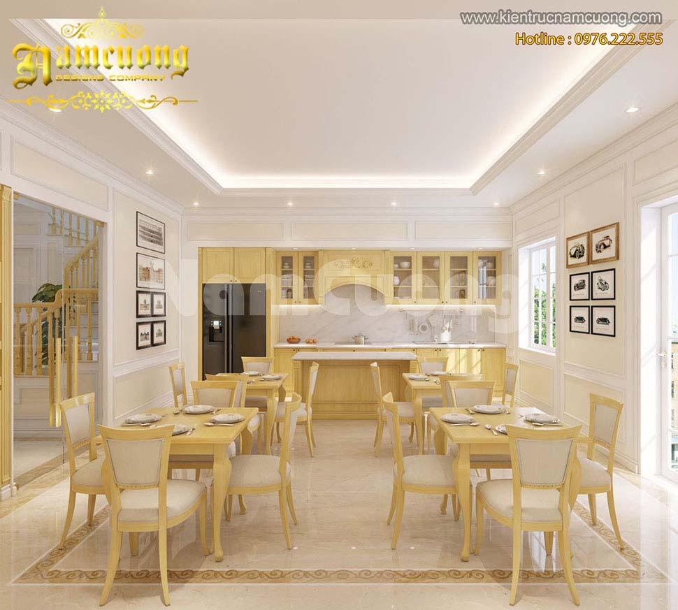 phòng ăn khách sạn mini