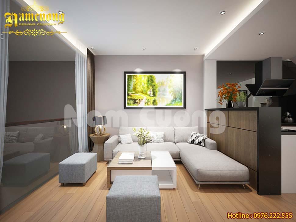 mẫu phòng khách đơn giản