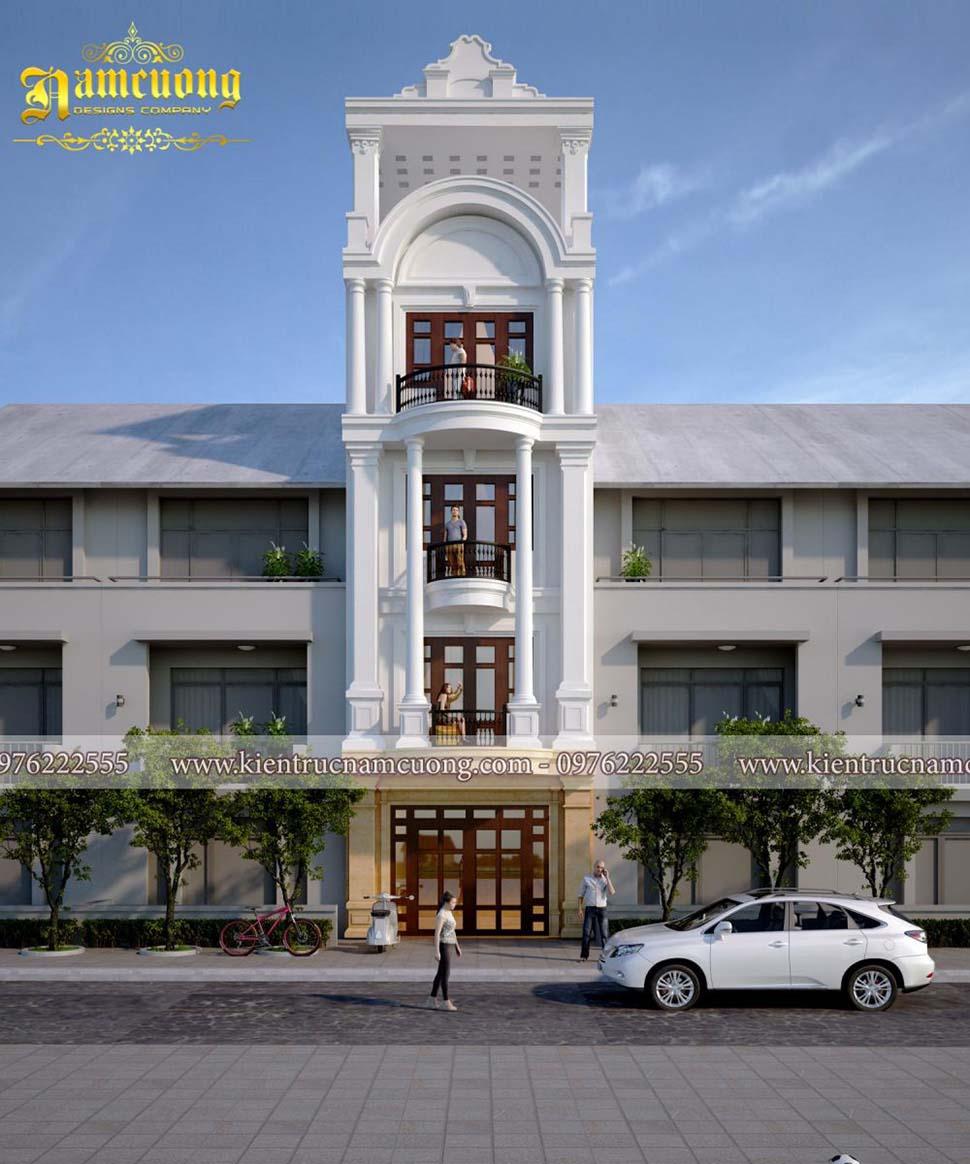 nhà 5 tầng mặt tiền 5m