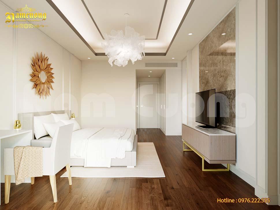 phòng ngủ nhà ống 4m