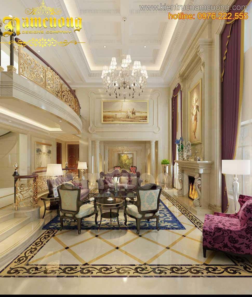 thiết kế nội thất có điểm nhấm