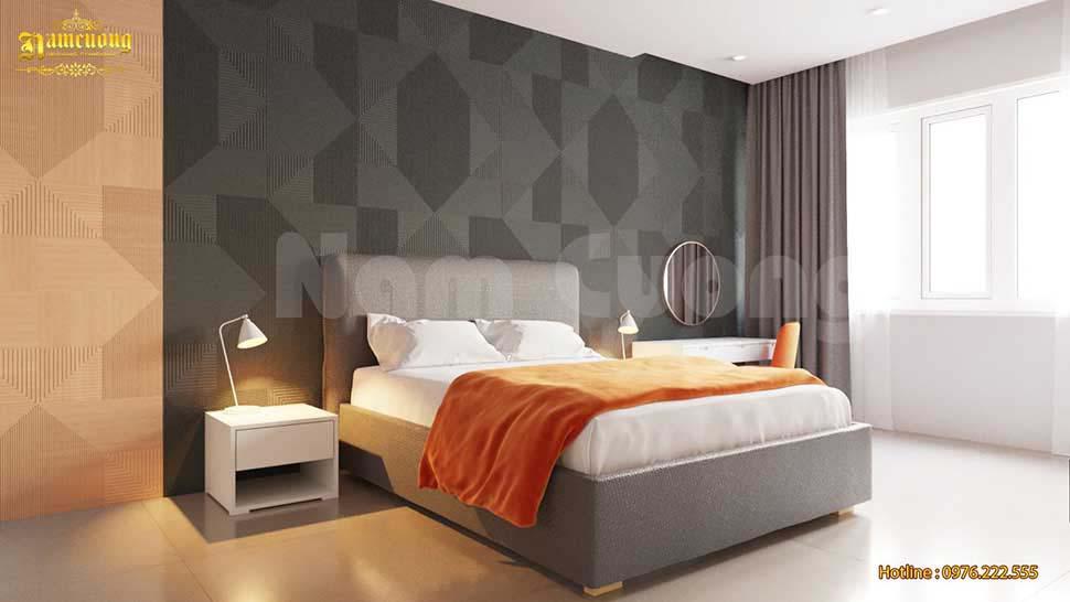 phòng ngủ nhà ống hiện đại