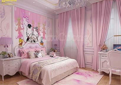 công ty thiết kế phòng ngủ trẻ em