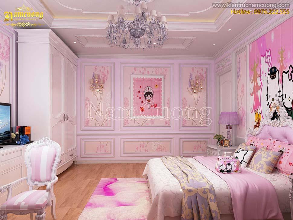 phòng ngủ dễ thương