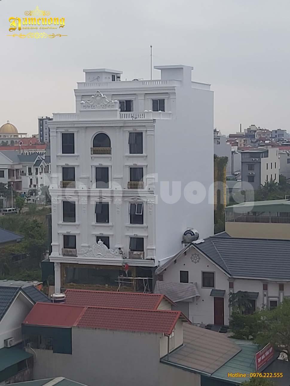 xây khách sạn đẹp