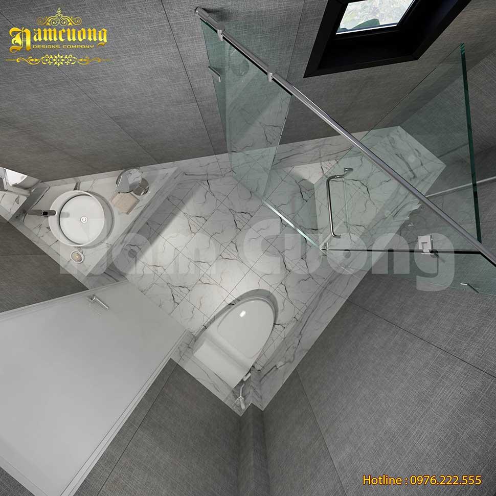diện tích phòng tắm