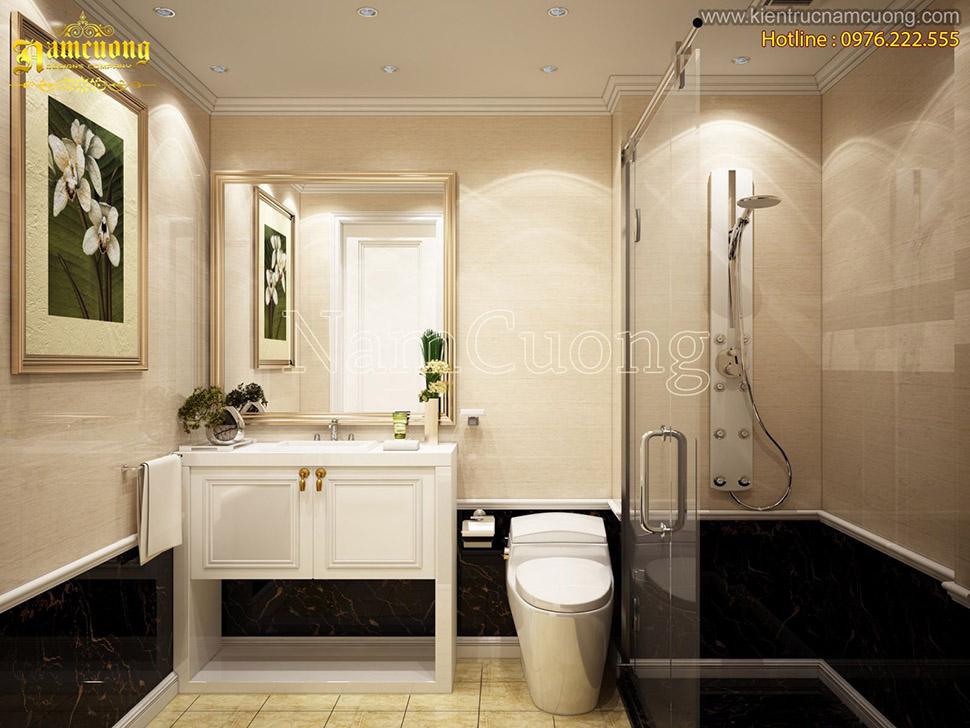 thiết kế phòng tắm 6m2